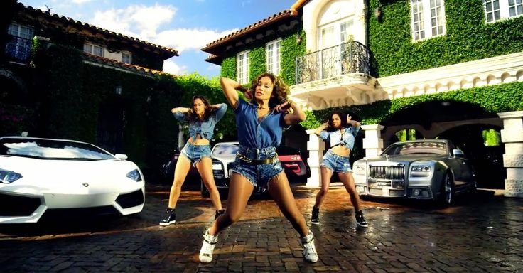Lamborghini and Rolls-Royce cars and Giuseppe Zanotti sneakers in I LUH YA PAPI by Jennifer Lopez (2014) Official Music Video