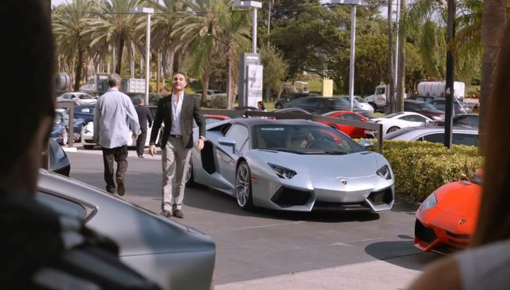 Lamborghini Aventador car in BALLERS: MACHETE CHARGE (2015) TV Show Product Placement