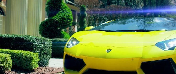Lamborghini Aventador LP 700-4 car in HOOD GO CRAZY by Tech N9ne (2015) Official Music Video Product Placement