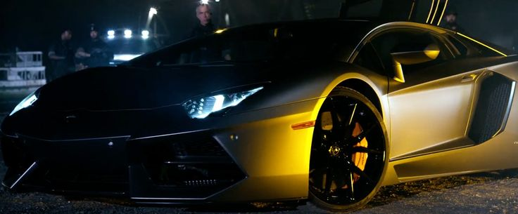 Lamborghini Aventador - Transformers: Age of Extinction (2014) Movie Product Placement