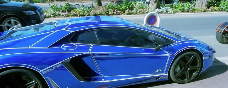 Lamborghini Aventador LP 700-4 car in RAP $TAR by Tyga (2015) Official Music Video Product Placement