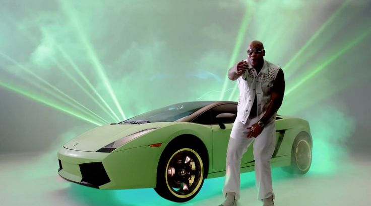 Lamborghini Gallardo car in GOIN' IN by Jennifer Lopez (2012) Official Music Video Product Placement