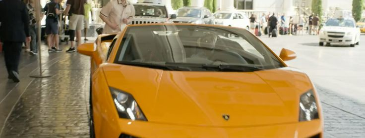 Lamborghini Gallardo LP560-4 Spyder car in THINK LIKE A MAN TOO (2014) Movie Product Placement