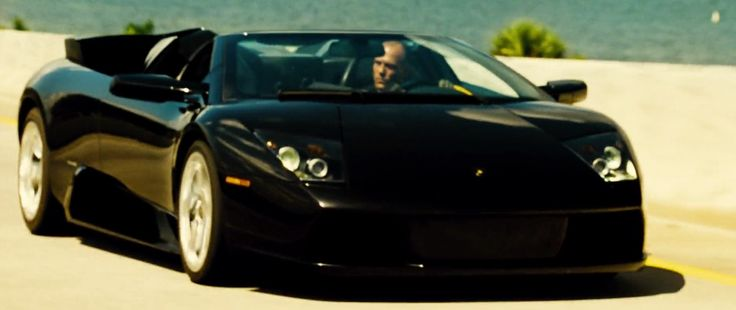 Lamborghini Murciélago Roadster car in TRANSPORTER 2 (2005) Movie Product Placement