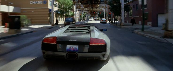 Lamborghini Murciélago - The Dark Knight (2008) Movie Product Placement