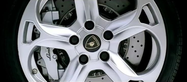 Lamborghini tyre in GO GETTA by Young Jeezy (2007) Official Music Video Product Placement