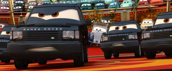 Land Rover Range Rover Series II in CARS 2 (2011) Cartoon and Animation Movie Product Placement