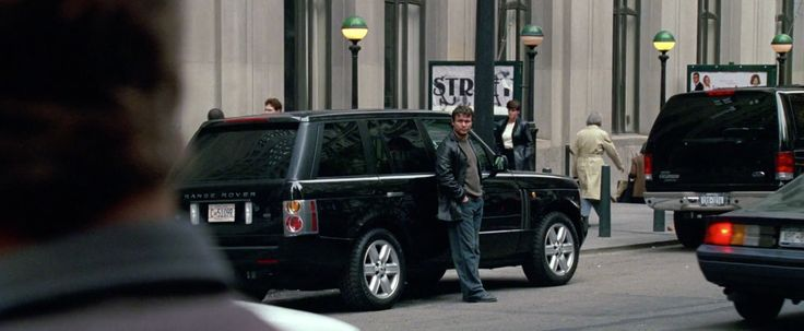 Land Rover Range Rover Series III SUV in NATIONAL TREASURE (2004) Movie Product Placement