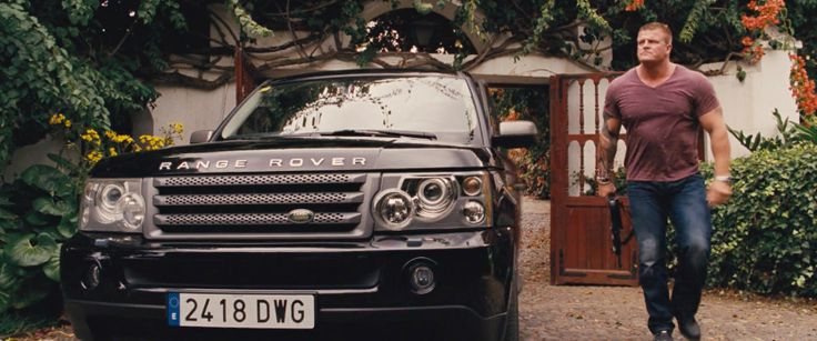 Land Rover Range Rover Sport car driven Kim Kold in FAST & FURIOUS