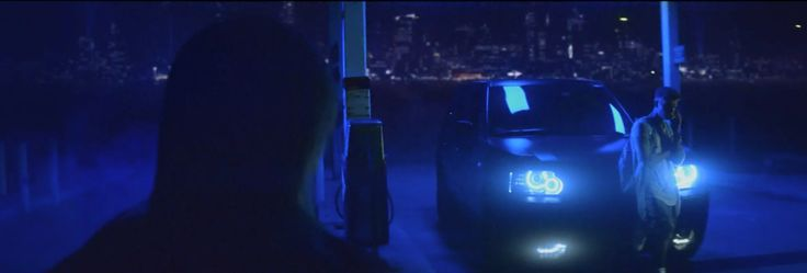Land Rover Range Rover Sport car in CONFIDENT by Justin Bieber (2013) Music Video Product Placement