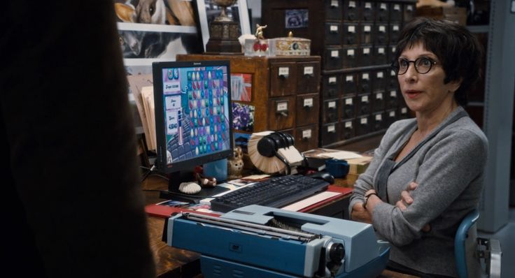 Lenovo monitor and Candy Crush Saga game app in NIGHT AT THE MUSEUM: SECRET OF THE TOMB (2014) Movie Product Placement