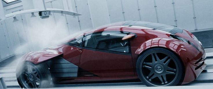 Lexus 2054 EV in MINORITY REPORT (2002) Movie Product Placement