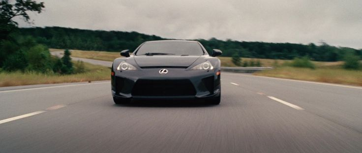 Lexus LFA driven by Sung Kang in FAST FIVE (2011) Movie Product Placement