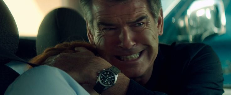 Lorus Chronograph Watches - The November Man (2014) Movie Product Placement
