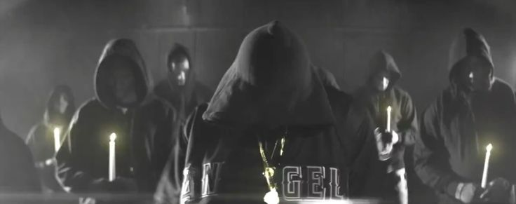 Los Angeles Angels hoodie worn by Chris Brown in DON'T THINK THEY KNOW ME (2013) Official Music Video Product Placement