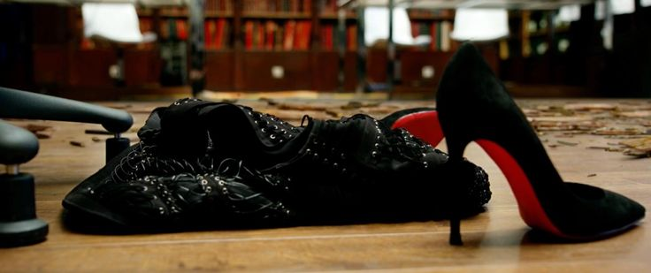 Christian Louboutin shoes in LUCY (2014) Movie Product Placement