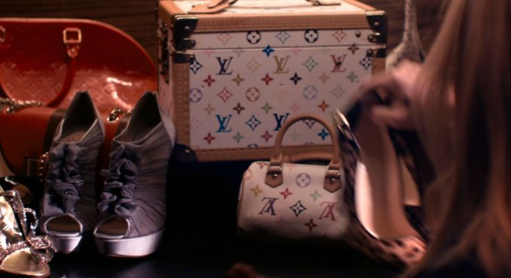Louis Vuitton bags in THE BLING RING (2013) Movie Product Placement