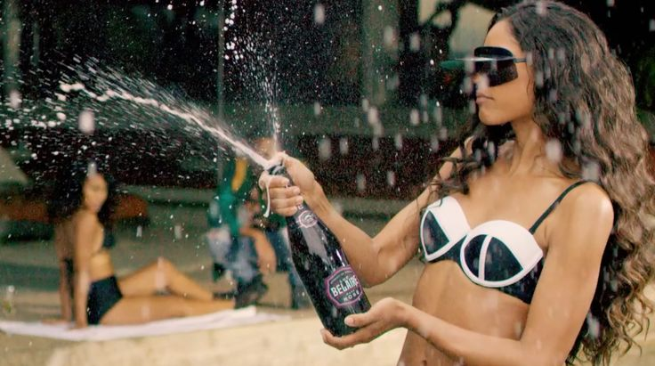 Luc Belaire wine in ORDER MORE by G-Eazy (2016) Official Music Video