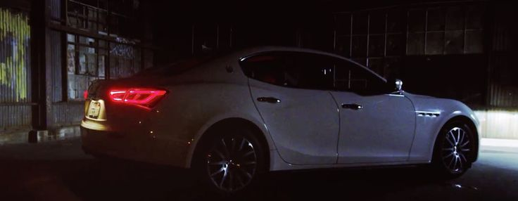 Maserati Ghibli car in WHEN I SEE YA by Ty Dolla $ign (2015) - Official Music Video Product Placement