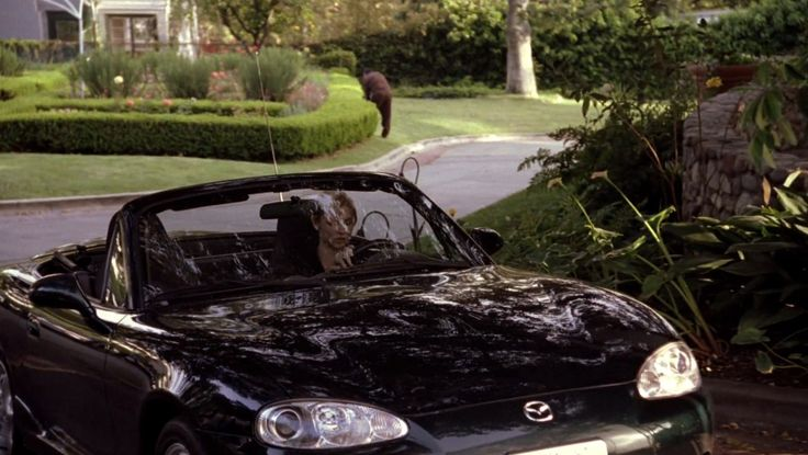 Mazda MX-5 Miata car driven by Samaire Armstrong in ENTOURAGE: DATE NIGHT (2004) TV Show Product Placement
