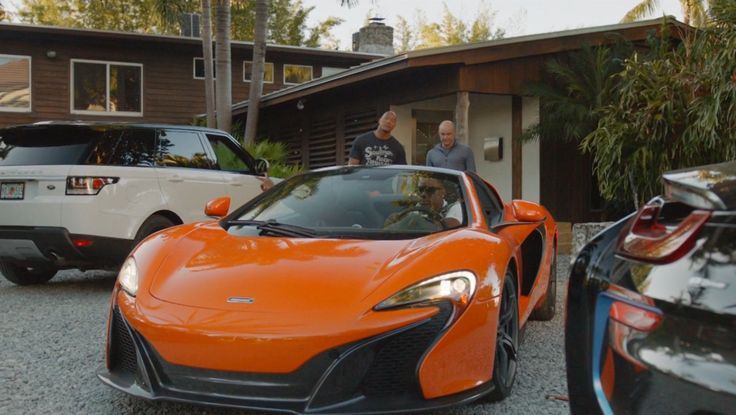 McLaren 650S Car driven by Donovan W. Carter in BALLERS: ENDS (2015) TV Show Product Placement
