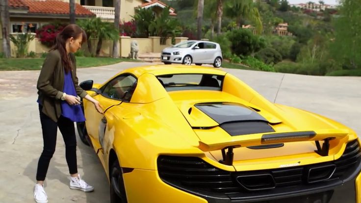 McLaren 650S Spider car in UMA THURMAN by Fall Out Boy (2015) Official Music Video Product Placement