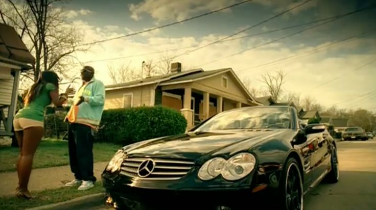 Mercedes-Benz CLK-Class 350 in SO WHAT by Field Mob (2006) - Official Music Video Product Placement