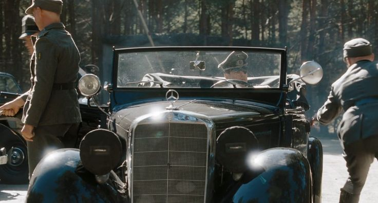 Mercedes-Benz 170D OTP [W136.VID] (1951) car in VALKYRIE (2008) Movie Product Placement