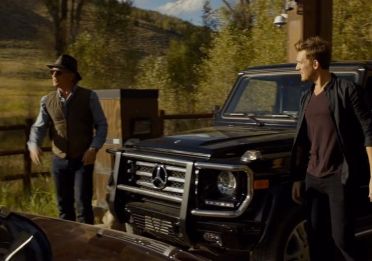 Mercedes-Benz G-Class SUV in BLOOD & OIL: THE BIRTHDAY PARTY (2015) - TV Show Product Placement