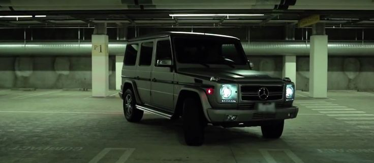 Mercedes-Benz G-Class [W463] SUV in WORK by Omarion (2014) - Official Music Video Product Placement