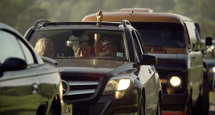 Mercedes-Benz GLK Car - Brantley Gilbert - Small Town Throwdown - Official Music Video Product Placement
