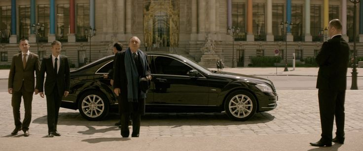 Mercedes-Benz S-Class [W221] car in YVES SAINT LAURENT (2014) Movie Product Placement