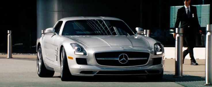 Mercedes-Benz SLS AMG Car - Transformers: Dark of the Moon (2011) Movie Product Placement