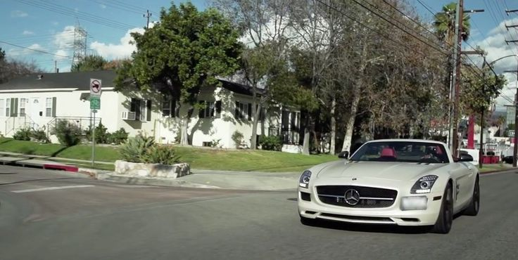 Mercedes-Benz SLS AMG Roadster [R197] in WORK by Omarion (2014) - Official Music Video Product Placement