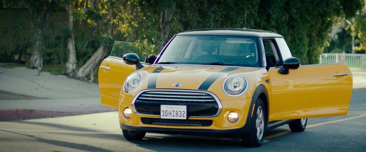 Mini Cooper car in DOPE (2015) Movie Product Placement