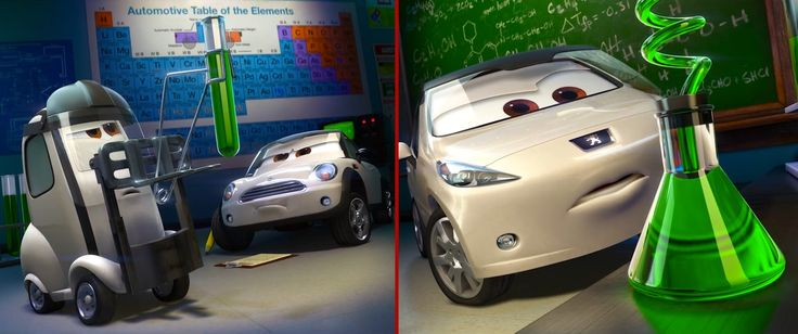 Mini Cooper and Peugeot 207 cars in Cars 2 (2011) Animation Movie Product Placement