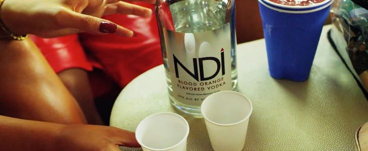 NDI vodka in WYA by Jermaine Dupri (2015) Official Music Video Product Placement