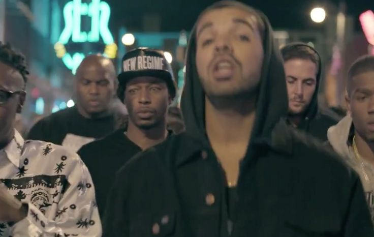 New Regime cap in WORST BEHAVIOR by Drake (2013) Official Music Video Product Placement