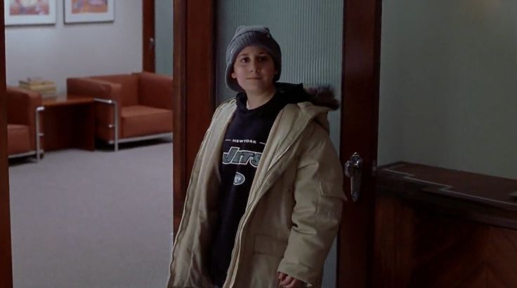 New York Jets sweatshirt worn by Daniel Tay in ELF (2003) Movie Product Placement