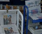New York Times and USA Today newspapers in VEEP: THE MORNING...