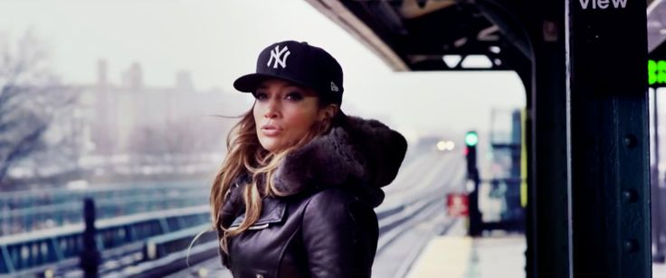 New York Yankees x New Era cap worn by Jennifer Lopez in SAME GIRL (2014) - Official Music Video Product Placement