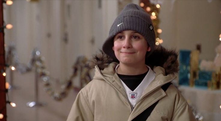 NFL jersey, Nike hat and Rocawear jacket worn Daniel Tay in Elf (2003) Movie Product Placement