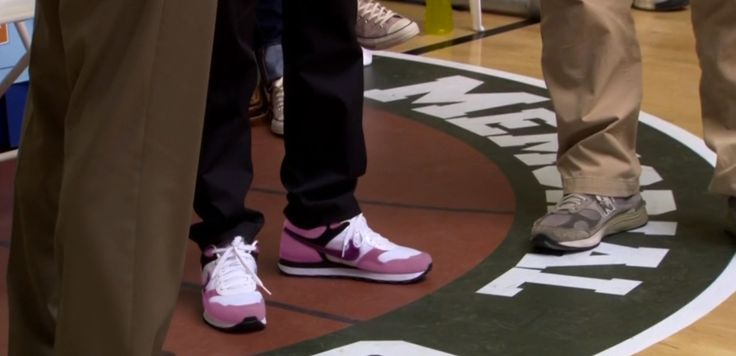 Nike and New Balance shoes - Parks and Recreation TV Show Product Placement