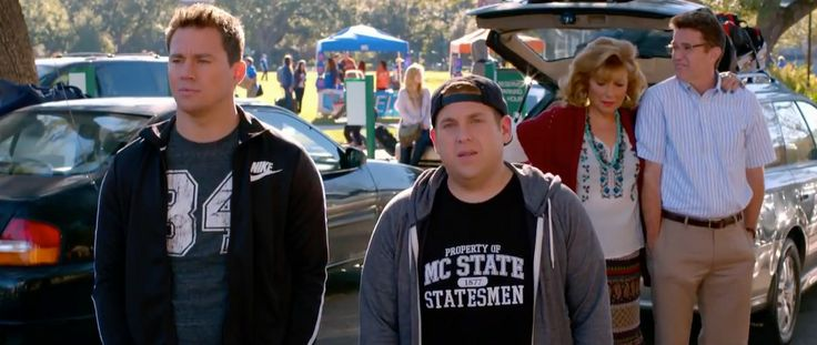 Nike jacket worn by Channing Tatum in 22 JUMP STREET (2014) Movie Product Placement
