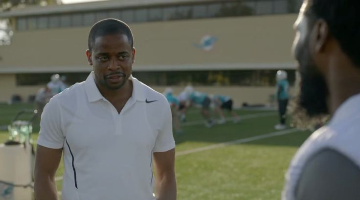 Nike polo shirt worn by Dulé Hill in BALLERS: HEADS WILL ROLL (2015) TV Show Product Placement