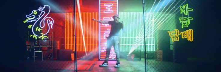 Nike shoes worn by Chance The Rapper in CONFIDENT by Justin Bieber (2013) - Official Music Video Product Placement