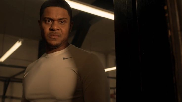 Nike t-shirt worn by Pooch Hall in RAY DONOVAN: GET EVEN BEFORE LEAVING (2016) TV Show Product Placement