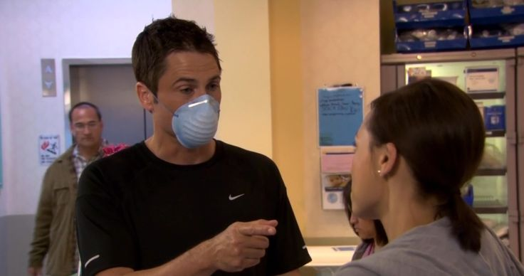 Nike T-Shirt- PARKS AND RECREATION: FLU SEASON (2011) TV Show Product Placement