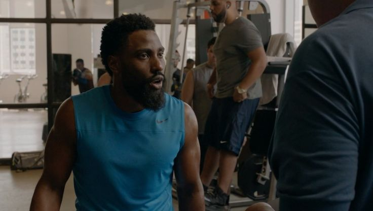 Nike tank top worn by John David Washington in BALLERS: ENDS (2015) TV Show Product Placement
