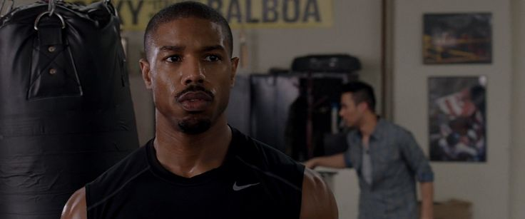 Nike tank top worn by Michael B. Jordan in CREED (2015) Movie Product Placement